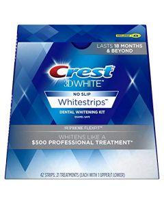 Crest 3Dwhite whitestrips supreme flexfit