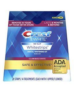 Crest 3Dwhite whitestrips glamorous white