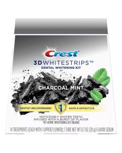 Crest 3D white whitestrips - Charcoal Mint