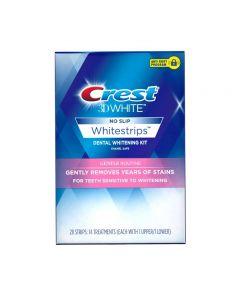 Crest 3Dwhite whitestrips gentle routine