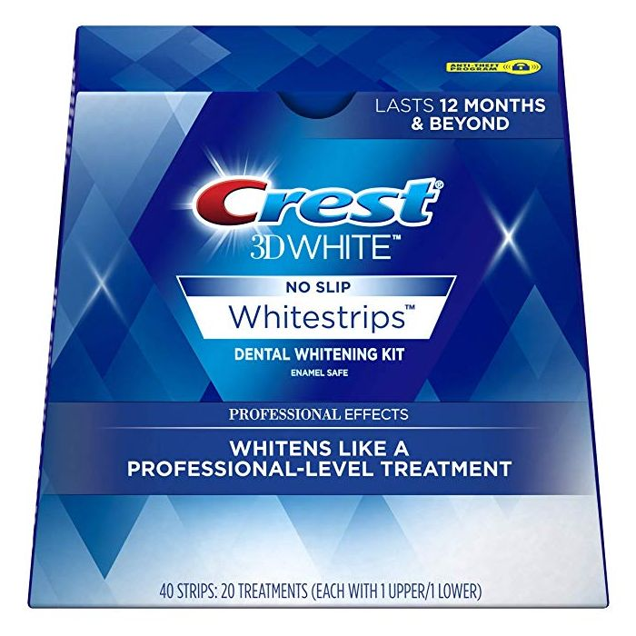 Crest 3Dwhite professional effects